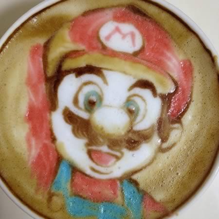 coffee-可愛咖啡奶泡001