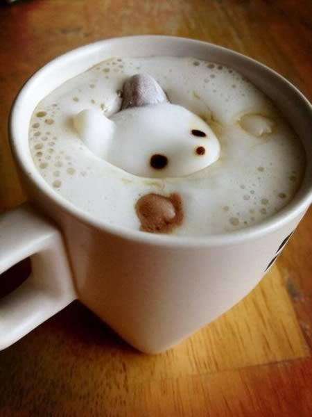 coffee-可愛咖啡奶泡002