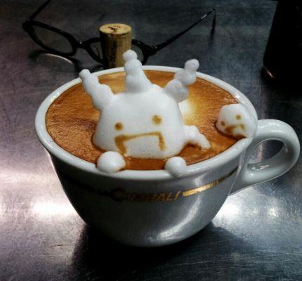 coffee-可愛咖啡奶泡004