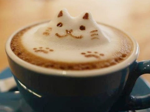 coffee-可愛咖啡奶泡005