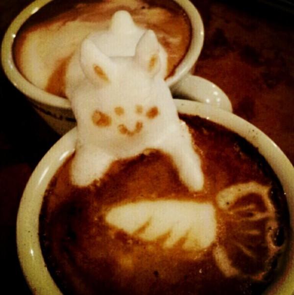 coffee-可愛咖啡奶泡007
