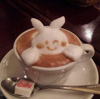 coffee-可愛咖啡奶泡018