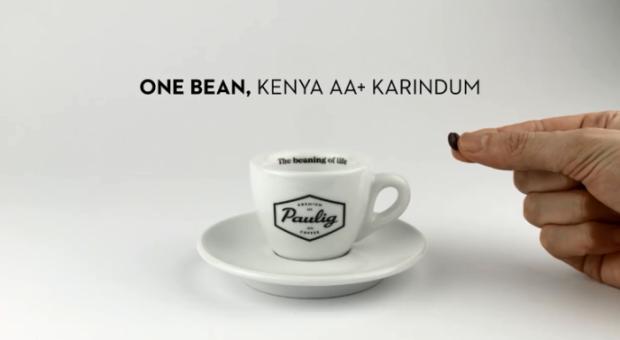 超微咖啡藝術!一顆咖啡豆也能煮出滿滿一杯香濃咖啡